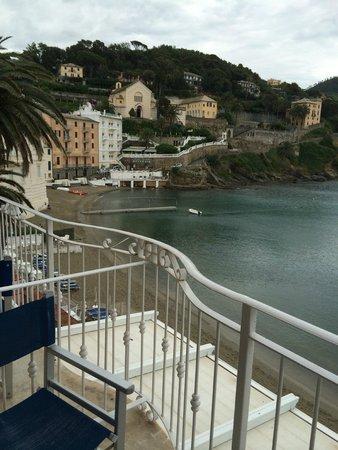 Hotel Miramare Sestri Levante: вид из номера