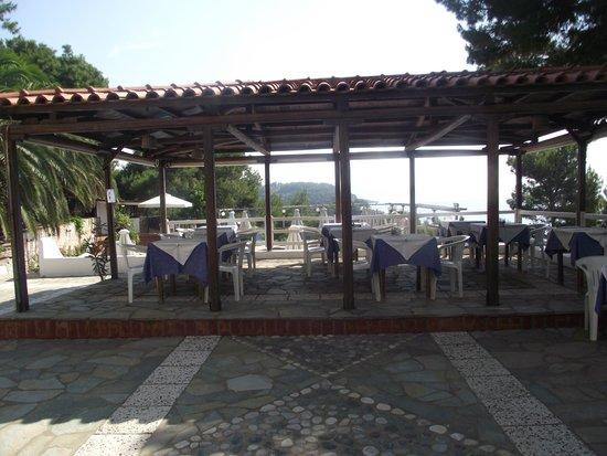 Paradise Hotel - Alonissos: Breakfast Area