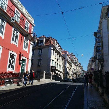 Hall Chiado: hotel street