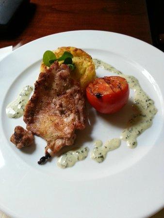 Boutique Hotel Seven Days : Lunch, chicken