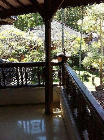 Keraton Jimbaran Beach Resort: room balcony