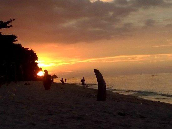 Hotel Tugu Lombok : Tugu Hotel sunset