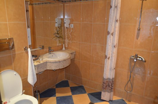 Veliko Tarnovo Hotel Premier: The bathroom