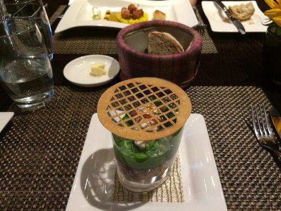 Castle Terrace Restaurant : Excellent lunch