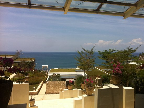 Anantara Uluwatu Bali Resort : Reception view