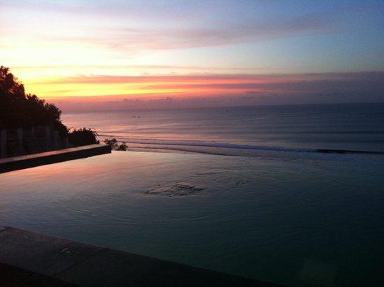 Anantara Uluwatu Bali Resort : Amazing view from our pool villa