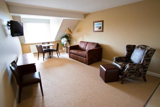 Strandhill Lodge and Suites Hotel: Living Area in Superior Suites