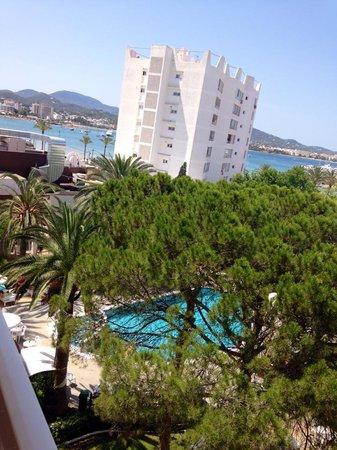 Hotel Playasol Marco Polo I : Sicht vom Balkon