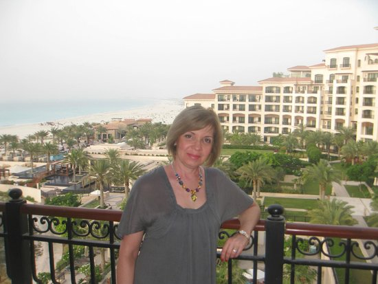 The St. Regis Saadiyat Island Resort: Вид из нашего номера.