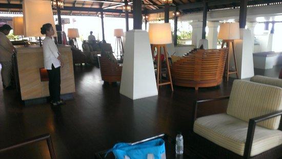 Pangkor Laut Resort: Resort lobby