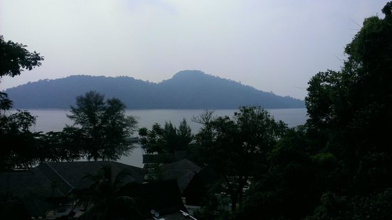 Pangkor Laut Resort: Views from observation deck next to the hill villa