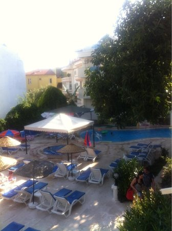 Club Evin Marmaris: Pool side