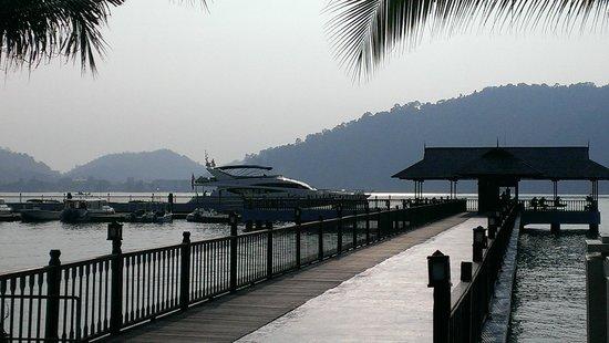Pangkor Laut Resort: Jetty at the resort