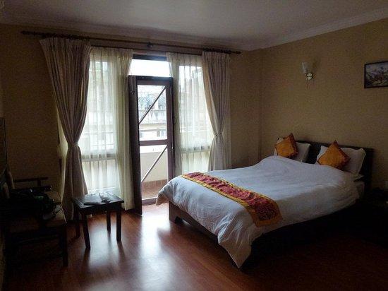 Hotel Mums Home Pvt Ltd: ベランダありの部屋