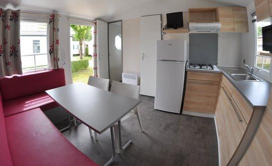 Camping La Prairie : location de mobil home grand confort en camping à st jean de monts