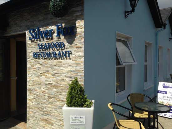 Silver Fox Seafood Restaurant: New Entrance
