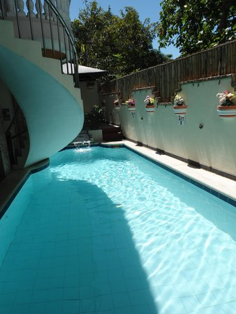 Swimming pool picture of cool martin family hotel - Beach with swimming pool in cavite ...