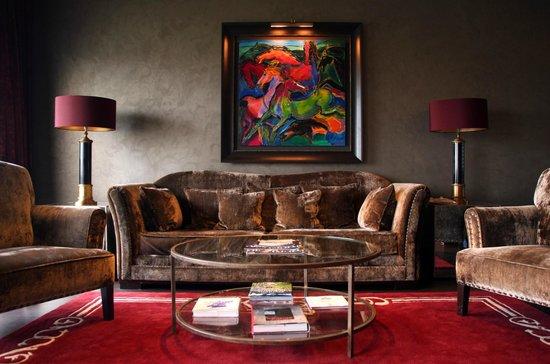 Castillo Gorraiz Hotel Golf & Spa: Sala Lounge