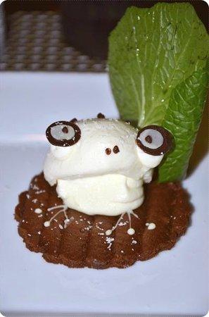 NINJA AKASAKA : Icecream frog dessert (last dish of ten)