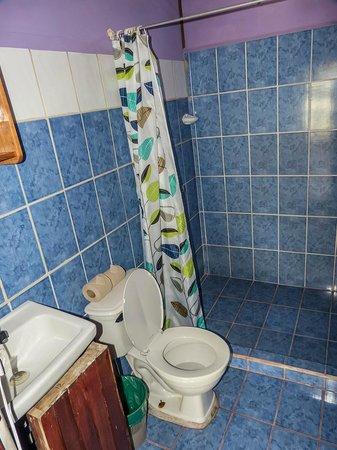 Cabinas El Icaco Tortuguero: baño