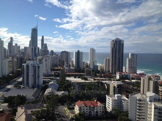 Crowne Plaza Surfers Paradise: Great View