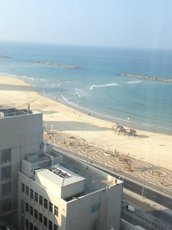 Park Plaza Orchid Tel Aviv: view to the south
