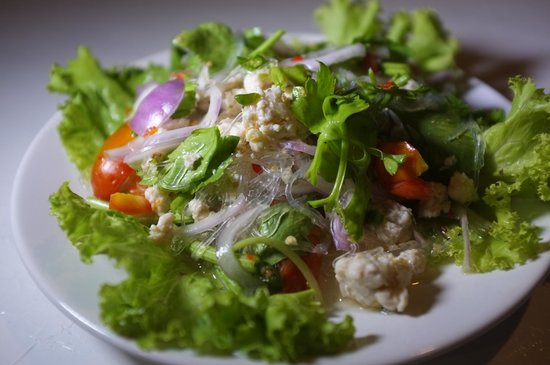 K.P. Food: Glass Noodle Spicy Salad
