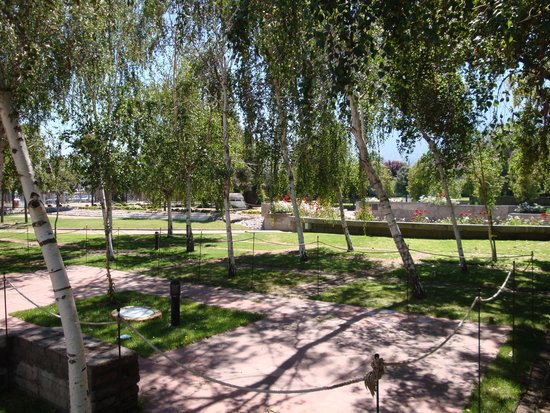 Parque por la Paz Villa Grimaldi : Minnessten