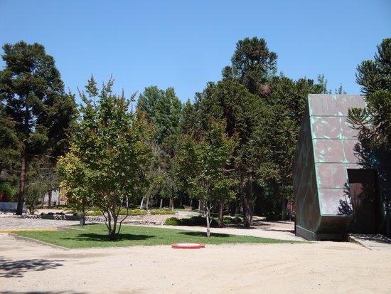 Parque por la Paz Villa Grimaldi : En del av parken