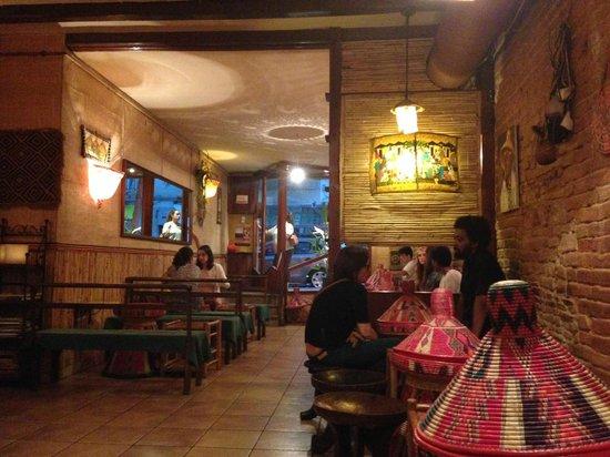 Restaurante Addis Abeba : El restaurante...muy bonito