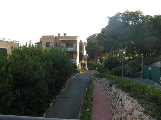 Pierre & Vacances: Balcony view