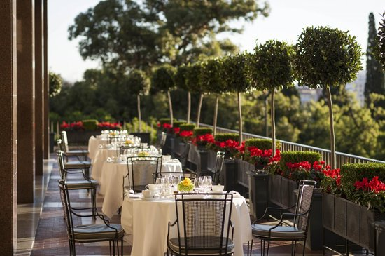 Four Seasons Hotel Ritz Lisbon: Varanda Restaurant Balcony