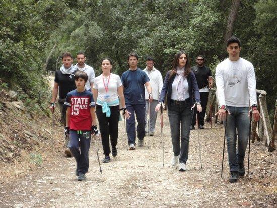 Parco Avventura Bosco d'Alcamo - Vivilbosco: Nordic Walking