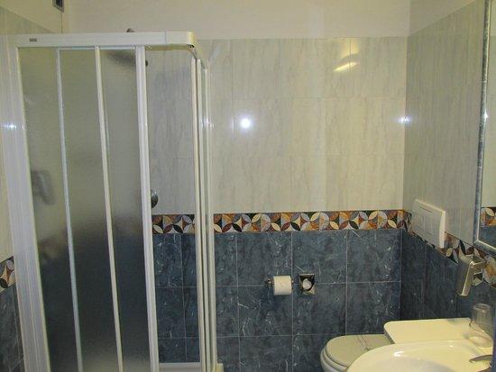 Hotel Imperial : Baño con ducha de la habitación