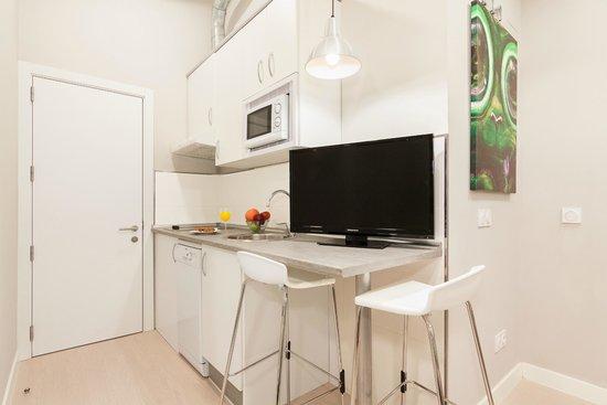 Apartamentos Blume Cruz: Cocinas totalmente equipadas