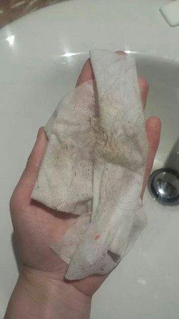 Best Jacaranda: Dirt off bathroom floor in one wipe!!