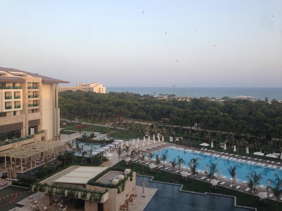 Regnum Carya Golf & Spa Resort: view from our room 2