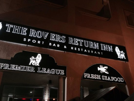 The Rovers Return Inn: The Rovers, looks better than it is!