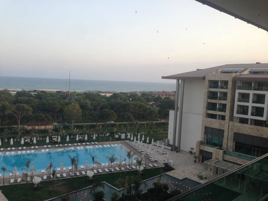 Regnum Carya Golf & Spa Resort: view from our room 3