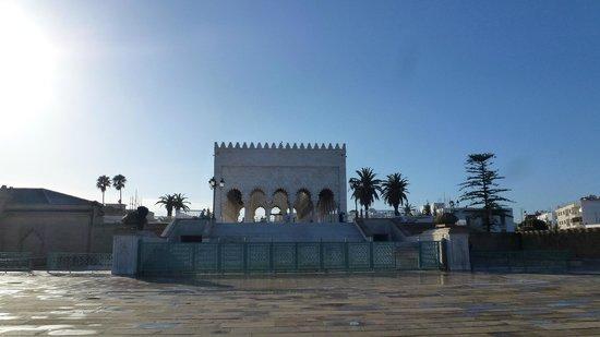 Mausolée de Mohammed V : Mausoleo Mohamed IV