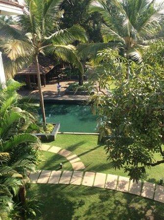 Alila Diwa Goa: veiw from our balcony