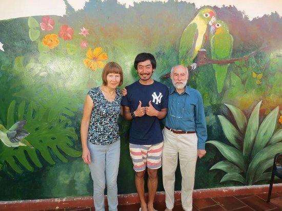 Hostel Bambu Puerto Iguazu: Takash