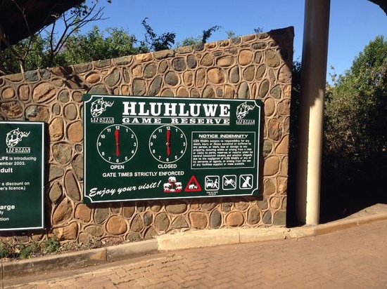 Heritage Tours & Safaris: Memorial Gate Entrance about an hour from Richard's Bay