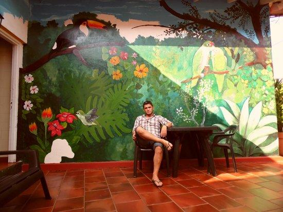 Hostel Bambu Puerto Iguazu: Faby