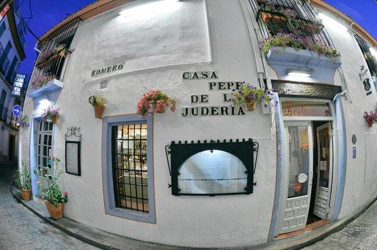 Casa Pepe de la Juderia: La fachada de Casa Pepe de la Judería