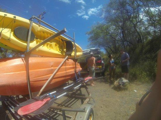 Aloha Kayaks Maui: Griff