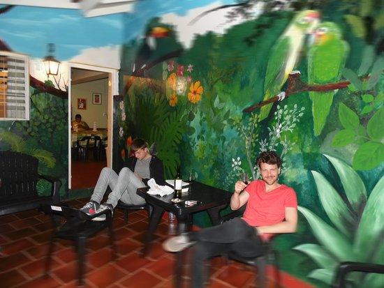 Hostel Bambu Puerto Iguazu: Bar