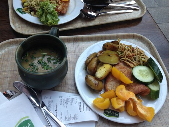 Marche Movenpick Dresden: Dinner