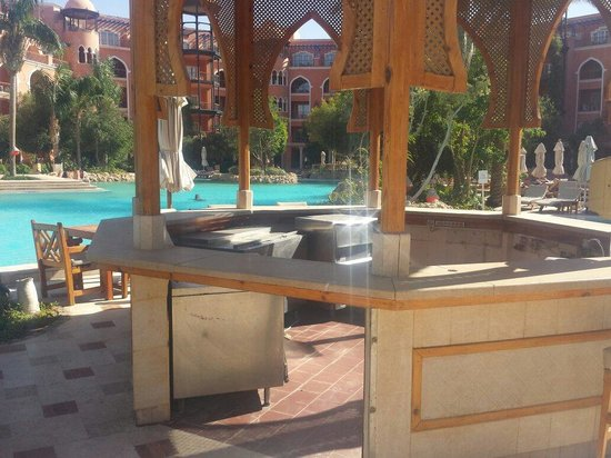 The Grand Resort Hurghada : Another bar closed mmm