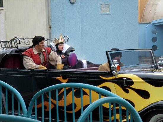 Walt Disney Studios Park: gaston